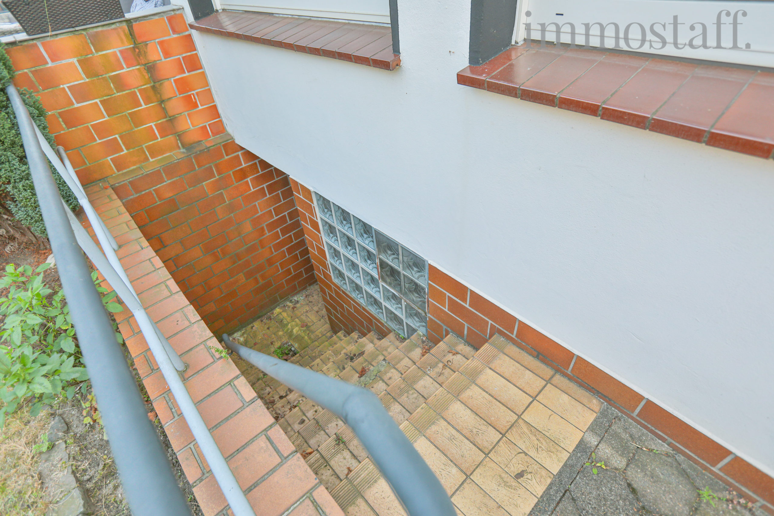 Kellerabgang vom Garten