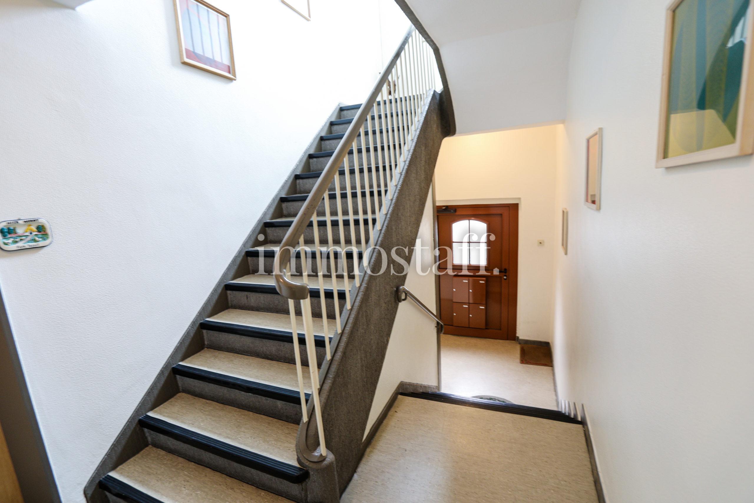Treppenanlage Mehrfamilienhaus