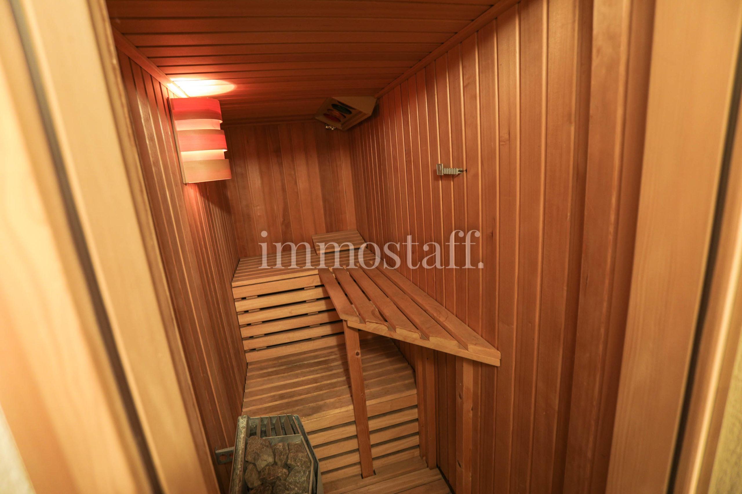 Sauna im UG