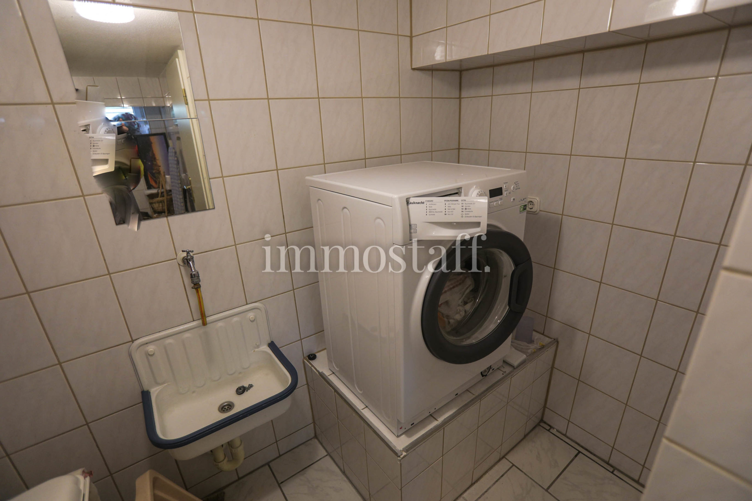 Wasch- & Trockenraum im UG